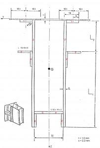 Fig 4 – Frame section