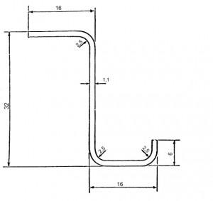 Fig 4 – Stringer section